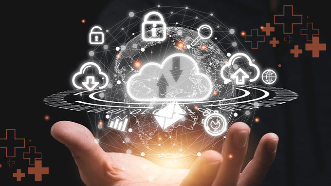 Why is cloud computing a more secure environment for healthcare data?